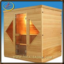 2014 top popular indoor wood sauna room
