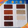 Caliente! Seccional de calidad gancho de aluminio de extrusión de perfiles de madera pecan de color