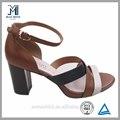 novo design preço de fábrica baratos sandálias calçado de senhora