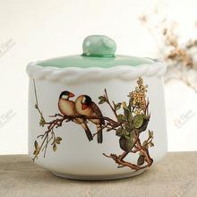 2014 vase ceramic Brand new home decoration pieces fujian gift item made in China dehua TG-409J235-WG-W-1