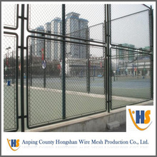 Anping hot sale !! PVC Coated Playground Chain Link Fence for sale gate fence mesh (professional manufacturer)