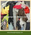 100% غير المصقول القطن الملابس المستعملة سعر المصنع