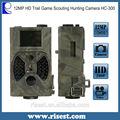 12mp inalámbrica cámara de observación para la vigilancia con el sonido con mando a distancia wih 940nm flash de baja visión nocturna hc-300