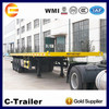 China new high quality 40 ft 3 axle dolly semi trailer