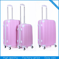 2014 new desigh trolley case suitcase luggage travel bags matching color spare parts