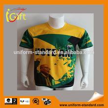 2014 hot sell wholesale high quality fashionable mens football tshirt