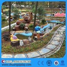 C&Q Amusement rides, Fairground electric theme park real trains for sale