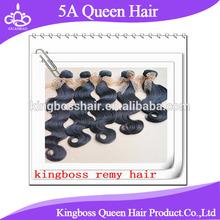 top quality 5A grade 100% human hair weft body wave brazilian virgin hair