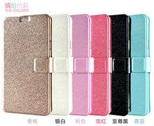 Silk Matte Skin Thin Wallet Flip Leather Case For Samsung Galaxy Note 4 N9100
