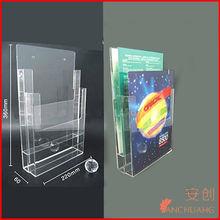 _Acrylic desk stand_acrylic brochure holder_handmade brochure holder