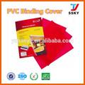a4 livro encadernação capa clara pvc obrigatório cobrir folha transparente de pvc para encadernação capas fabricante