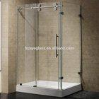smart glass shower door with CE&CCC