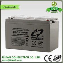 vrla battery 12v 100ah solar gel battery 12v 100ah for solar