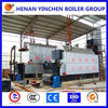 Screw pipe 3 pass 1-30t/h high pressure wood fired small biomass steam boiler used