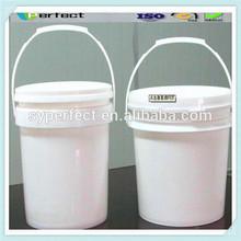 3 gallon custom plastic buckets with lid plastic bucket