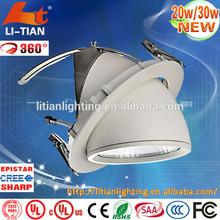 aluminium alloy solar power ce downlight furniture