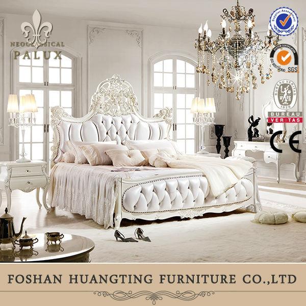 on sale romantic wooden neoclassic cream white color