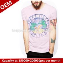 ที่กำหนดเองผ้าฝ้าย100%เสื้อยืดที่มีการพิมพ์