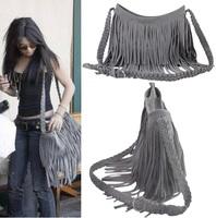 lady fashion fringe tassel bag wholesale handbag