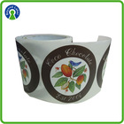 Pakcaging Adhesive Chocolate Labels , Food Sticker Printed Roll For Chocolate Labels