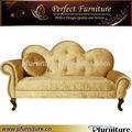 2014 modern hotel estofados sofá mobiliário de madeira simples árabe PFS41034