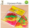 Wholesale Fashion Dog Hair Band Color Elastic Pet Rubber Band Grooming Rubber Bands For Dogs