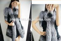 2014 wholesale prcie stylish lady fur clothing #OF173