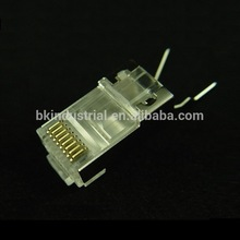 Cheap price shield rj45 connector for exhibition hall