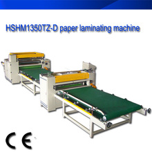 solvent glue decorative paper laminating machine