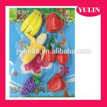ERP36 manufacturer's 6pcs different fruit pensil rubber eraser set/kneaded eraser