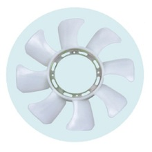 Cooling System Milky Denso Radiator Fan Blade For Car MD050472