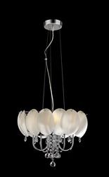 leave shape diamond glass pendant light