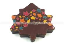 Luxury Printing High Quality Christmas Tree Shap Cookie Candy Chocolate Tin Box