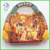 egyptian resin souvenir handbag shape fridge magnet