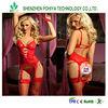 Women Sexy Lingerie Hot Lace Dress G string Handcuff Produtos Eroticos Sleepwear Underwear Uniform Costume