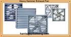 Industry wall mounted galvanized sheet heavy duty industrial exhaust fan