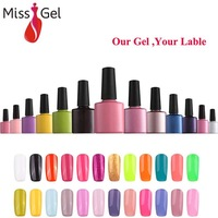 Our Gel Your Brand 444 Colors Soak Off UV /LED Lamp Gel Nail Polishes