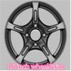 Chinese tires factory supply 16 inch vossen wheel rim