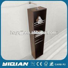 Melamine Design Simple New Design Line Open Shelf Standing Living Furniture