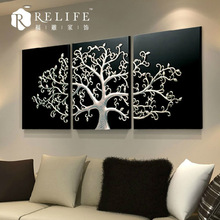 3d wall art light up led canvas painting