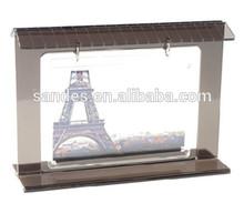 Beautiful acrylic photo frames with magnets acrylic photo frame display