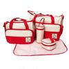 5PCs Baby Nappy Changing Bag Set Diaper Bag