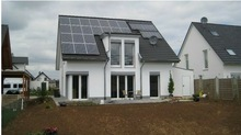 Top Build panelized Solid Steel Structure Prefab Houses by solar energy.