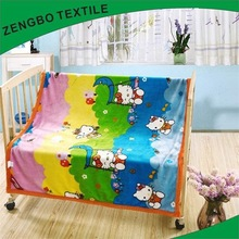 Multifunctional animal printed mink blanket with high quality
