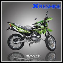 Chinese made racing dirt bike 200cc motorbikes