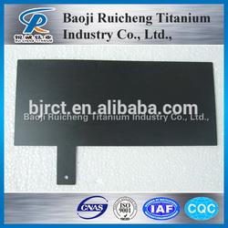 Titanium Anode Plates Sodium Hypochlorite Generator in china