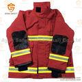 De seguridad de color naranja bombero ropa / traje / uniforme con 3 m banda reflectante de aramida ripstop material EN 469 estándar - Ayonsafety