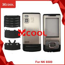 V1315 For NK 6500c 6500 classic Black New Full Mobile Phone Housing Cover Case+Keypad