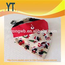 Merry Christmas Snowman Pattern Printed Pet Bandana/dog Bandana/printed Dog Bandana