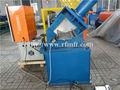 Puerta de acero galvanizado marco/marco de acero puertas correderas de cristal máquina de laminación